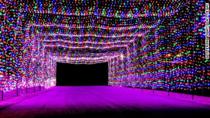 8 U.S. spots for amazing Christmas lights