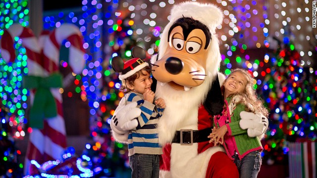With five million lights, The Osborne Family Spectacle of Dancing Lights at Disney's Hollywood Studios in Florida requires more than 10 miles of rope lighting and 30 miles of extension cords.