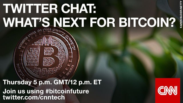 The future of Bitcoin: live Twitter chat today