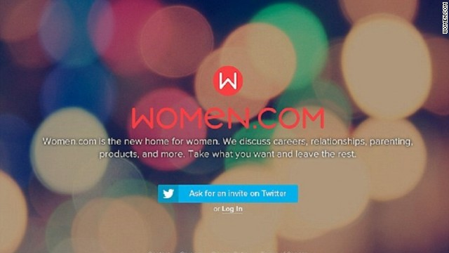 Women.com will serve as a haven from misogyny.