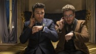 "As soon as word broke that ""The Interview"" will hit some theaters, celebrations erupted across social media -- including from the stars of the film."