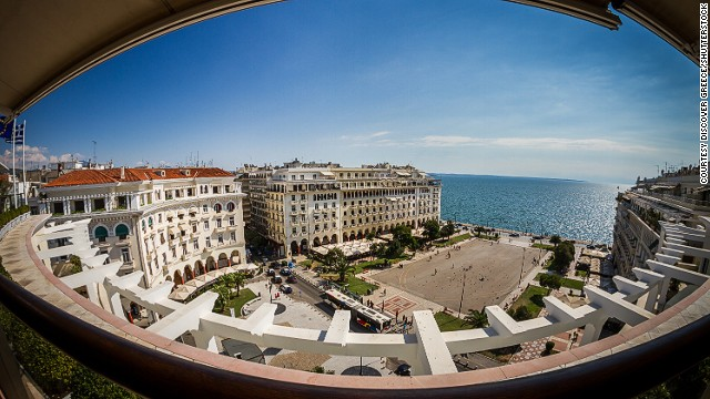 Greece's northern hub Thessaloniki is a year-round destination filled with boutiques and classy bars and restaurants.