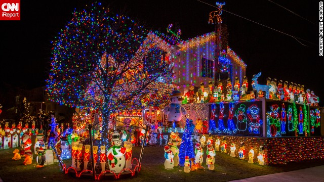 <a href='http://ireport.cnn.com/docs/DOC-1194699'>Kevin Lynch</a> tells people the best part of his Christmas display is them. He encourages visitors to walk on the lawn, come up on the porch and peer in the windows to get the full experience.