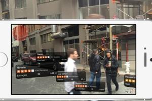 Aplicaciones de realidad aumentada Yelp Monocle