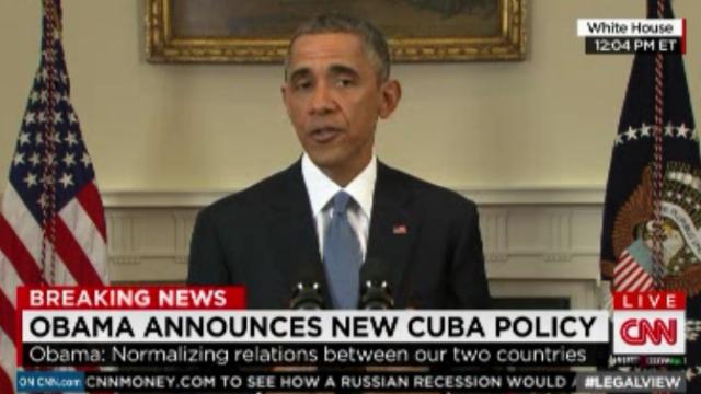 """Comunicado de la Casa Blanca habla de un """"nuevo rumbo para Cuba"""""""