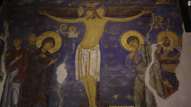 Established in the late 12th century, the monastery is renowned for its Byzantine paintings.