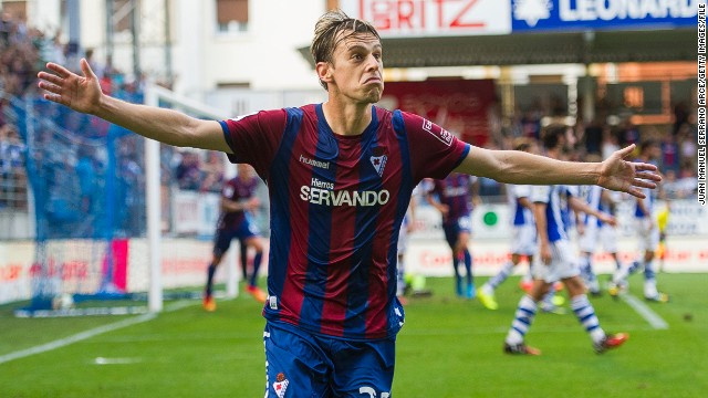 The club is determined not to overextend itself financially and after a summer of modest spending, Eibar began life in the top flight with a morale boosting victory over Basque neighbors Real Sociedad on the opening day, Javier Lara scoring the winner.
