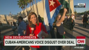 Cuban-Americans voice disgust over deal