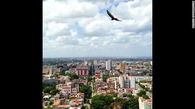 Oppmann offers a bird's-eye view of Havana.