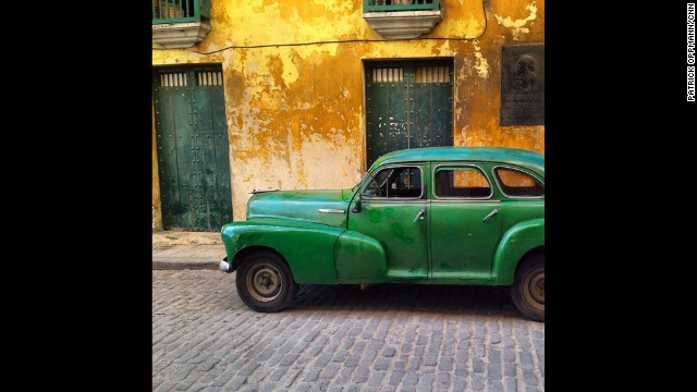 Here's an old Chevy in Old Havana.