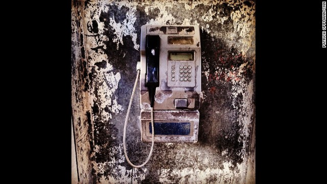 """Pay phones may be dissapearing in much of the rest of the world,"" Oppmann says, ""but the one on my block in Havana still gets plenty of use."""