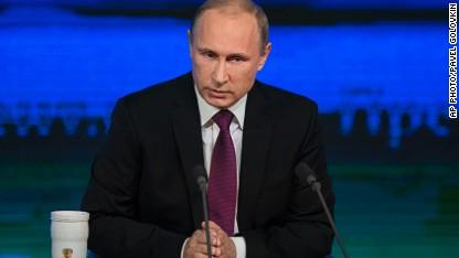 Putin: 'We're not warmongers'