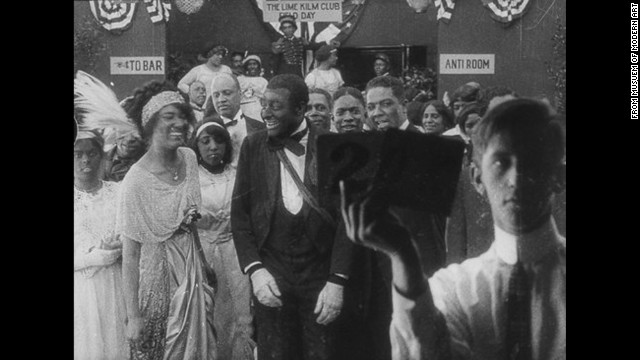 <strong>Bert Williams Lime Kiln Club Field Day (1913)</strong>: This feature-length project is an important reflection of history, as it stars a group of African-American performers led by vaudeville's Bert Williams, the first African-American to headline on Broadway and the most popular recording artist pre-1920. Although the film itself fell by the wayside, its reels were uncovered at the Metropolitan Museum of Art.