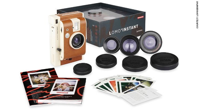 Lomo'Instant is Lomography's first instant camera, delivering artsy photos without the long wait. Lomo'Instant Sanermo comes with fisheye, portrait and closeup lenses.