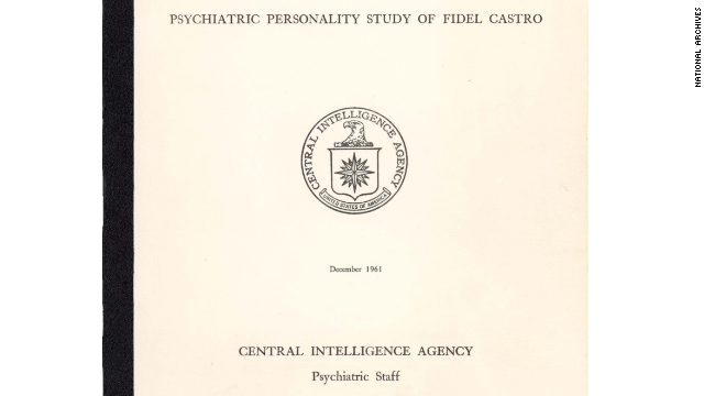 The CIA conducted a psychiatric evaluation of Fidel Castro in 1961. (National Archives)