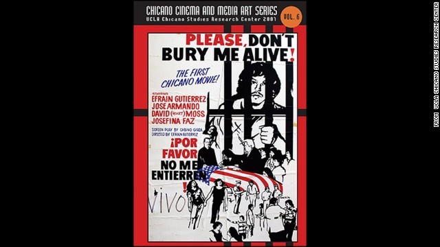 <strong>Please Don't Bury Me Alive! (1976):</strong> Efraín Gutiérrez wrote, directed, starred in and helped promote this independent film about the value of life and one's place in society in the wake of the Vietnam war. History experts peg this title as the first Chicano feature film.