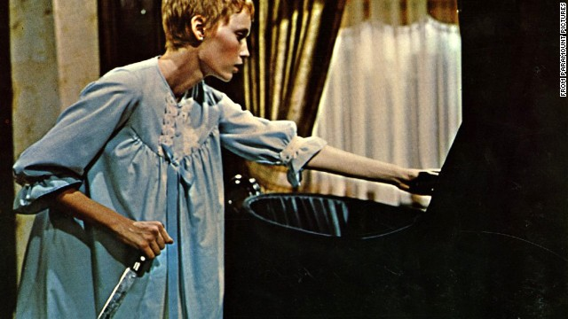 <strong>Rosemary's Baby (1968):</strong> Roman Polanski's adaptation of Ira Levin's novel, which tells the story of a young woman who comes to learn that she's birthing the spawn of Satan, just never gets old. It's still so popular that NBC recently tried to remake it as a miniseries starring Zoe Saldana.