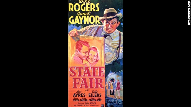 <strong>State Fair (1933):</strong> If you're looking for wholesome, you don't have to look much farther than this movie set at an Iowa state fair and starring Janet Gaynor and Will Rogers.