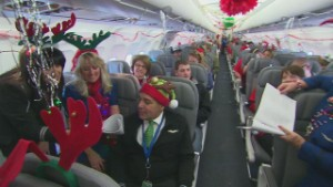 Sick kids fly to North Pole