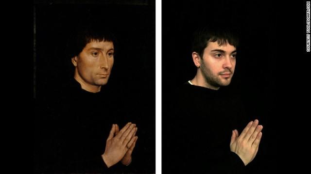 """""""Tommaso di Folco Portinari"""" by Hans Memling, circa 1470."""