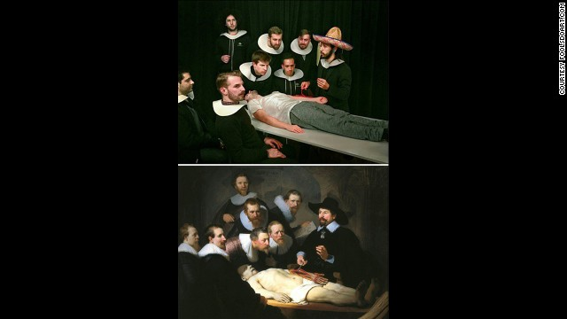 """""""The Anatomy Lesson of Dr. Nicolaes Tulp"""" by Rembrandt, circa1632."""