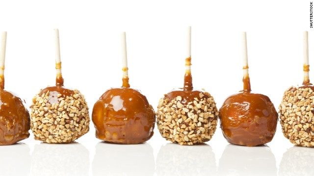 Deadly listeria outbreak linked to caramel apples.