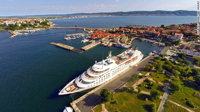 Windstar Cruises' Star Breeze can hold up to 212 guests. One of its most exciting 2015 routes will be the 10-day Sicilian Splendor, taking in Rome, Catania, Velleta, Gozo, Trapani, Sorrento and Capri.
