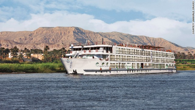 Starting in October, cruisers can take in Egypt from the River Nile with the elegant all-suite River Tosca, part of the Uniworld Boutique River Cruise Collection.