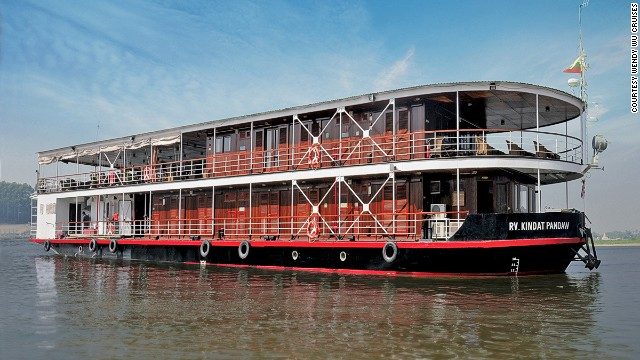 Wendy Wu's 12-day Irrawaddy Voyager will take in Kyauk Myaung, where Myanmar's 50-gallon water pots can be seen, as well as Bagan.
