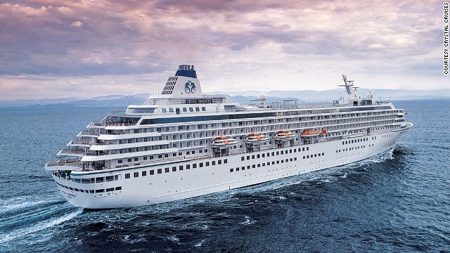 This is one cruise that's about more than consuming calories. Crystal Cruises' Crystal Symphony will give passengers a chance to work off those calories with a 90-minute running excursion in St. Petersburg.