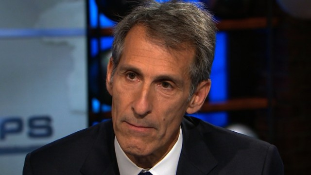 "December 21 -- Sony Pictures' CEO Michael Lynton responds to President Obama's comments, telling CNN ""we did not cave or back down."" Mr Lynton also said Sony were looking into releasing ""The Interview"" on the internet but no major distributor has volunteered to release the film."