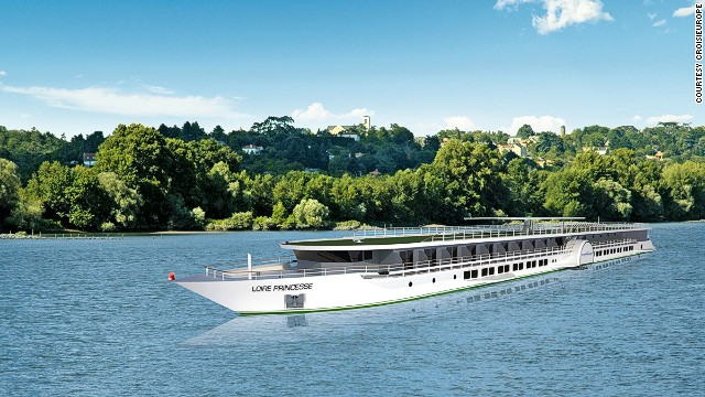 CroisiEurope's new Loire Princesse uses paddle wheel technology to navigate shallow waters, making it the first ever overnight cruise to sail the Loire River.