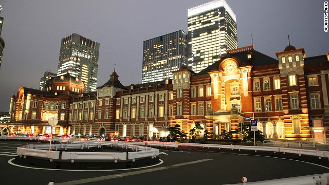 Tokyo Station Hotel, seamlessly merged with the Marunouchi Terminal Building, turns 100 in 2015.