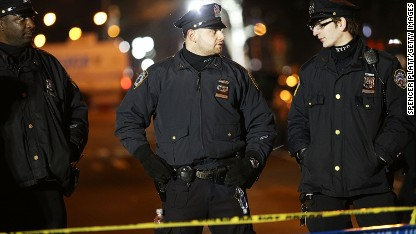 Blame piles on NYC mayor for cop shooting