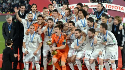 Football: Real win Club World Cup
