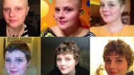 Un año sin cáncer en 9 valientes fotos