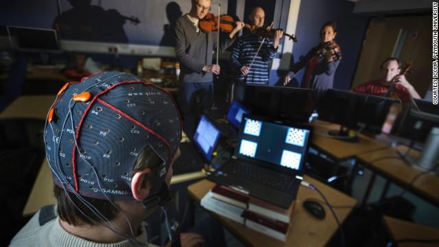 Ondas cerebrales que componen música