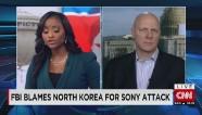 FBI blames North Korea for Sony Attack
