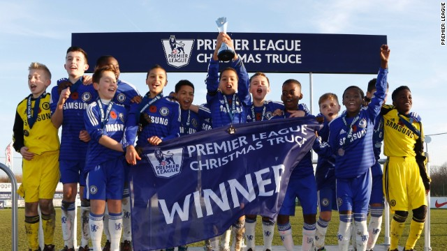 Chelsea's young stars of the future won the two-day tournament by defeating French club Paris Saint-Germain in the final.