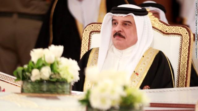 Hamad bin Isa Al Khalifa, shown here in November 2014, is King of Bahrain.