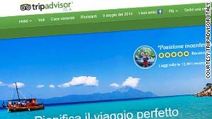 Authorities say The TripAdvisor Italy website mislead consumers.