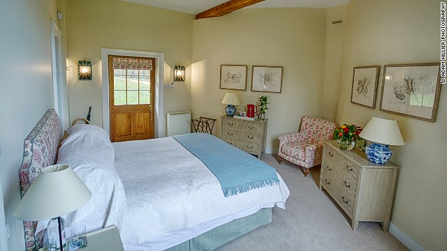 The two self-catering lodges are available on specific weekends, when the castle is open to visitors. Prices start at $  545 per night.