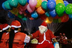 'Apariciones' de Santa Claus alrededor del mundo