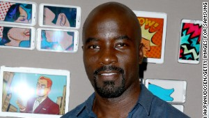 Actor Mike Colter attends the Samsung Galaxy VIP Lounge at Comic-Con International 2014 at Hard Rock Hotel San Diego on July 24, 2014 in San Diego, California. (Photo by Imeh Akpanudosen/Getty Images for Samsung)