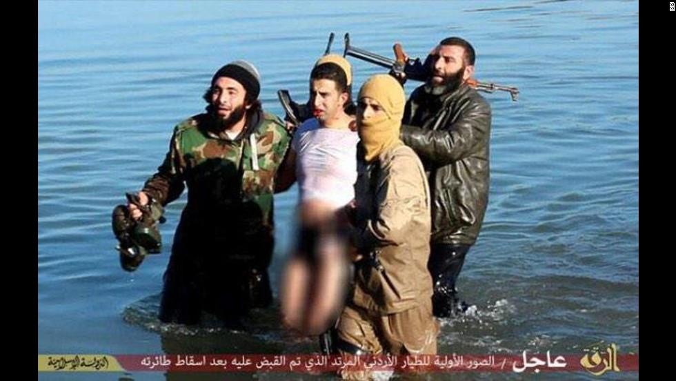 ISIS secuestra a piloto jordanio