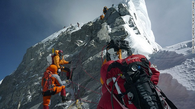 An April avalanche on Mount Everest claimed the lives of 12 Sherpa guides. The <a href='http://edition.cnn.com/2014/04/18/world/asia/nepal-everest-avalanche/index.html'>single deadliest accident on Everest</a> led to an <a href='http://edition.cnn.com/2014/04/29/travel/mount-everest-base-camp-empties/'>exodus of Sherpa</a> from the mountain, effectively canceling the 2014 climbing season.