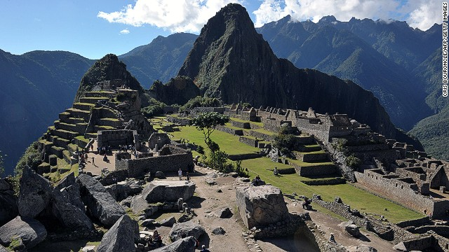 """Peru's Ministry of Culture denounced the regular spectacle of nude visitors at Machu Picchu as """"disrespectful"""" and """"unfortunate events that threaten cultural heritage."""""""