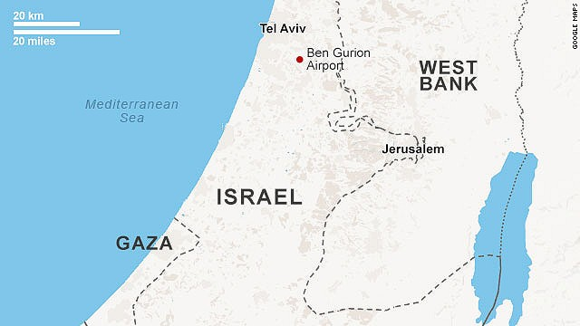 In July, a number of airlines suspended flights to Tel Aviv's Ben Gurion International Airport for at least 24 hours after a rocket fired from Gaza struck about a mile from its runways.