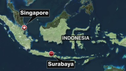 Missing plane likely at bottom of sea