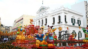 Macau offers traditional Chinese celebrations with a side of Portuguese.